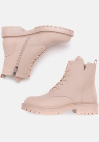 Betsy - Lace-up ankle boots - pink - 2