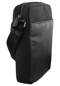 Braun Büffel - MURANO - Across body bag - black - 2