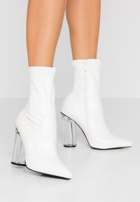 BEBO - HADLEY - High heeled ankle boots - offwhite - 0