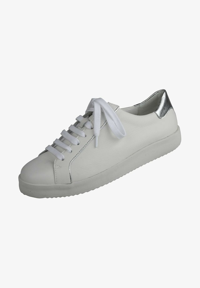 Trainers - weiss/silber
