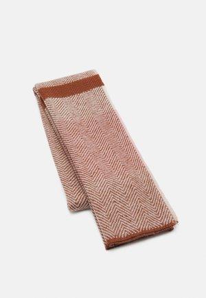 Sjaal - brown/pink