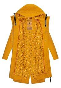 Navahoo - JOSINAA - Parka - amber yellow - 3