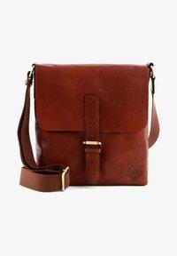Saddler - VERDAL - Across body bag - midbrown - 0