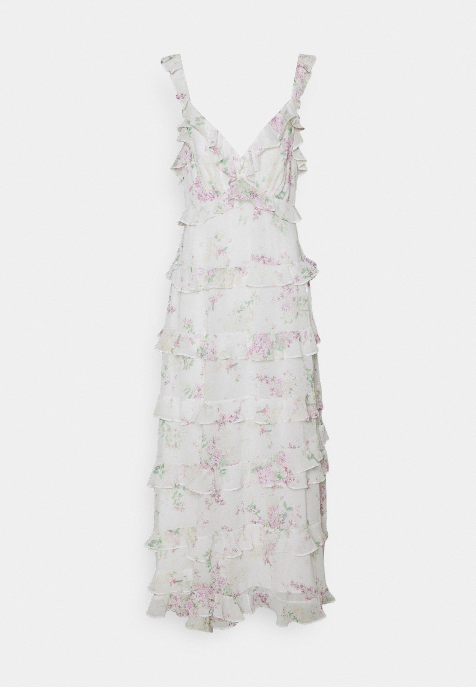 Women JOYCE RUFFLE DRESS - Maxi dress