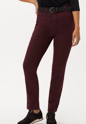 STYLE INA - Slim fit jeans - dark purple