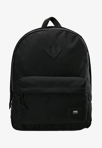 Vans - OLD SKOOL PLUS BACKPACK - Reppu - black - 6