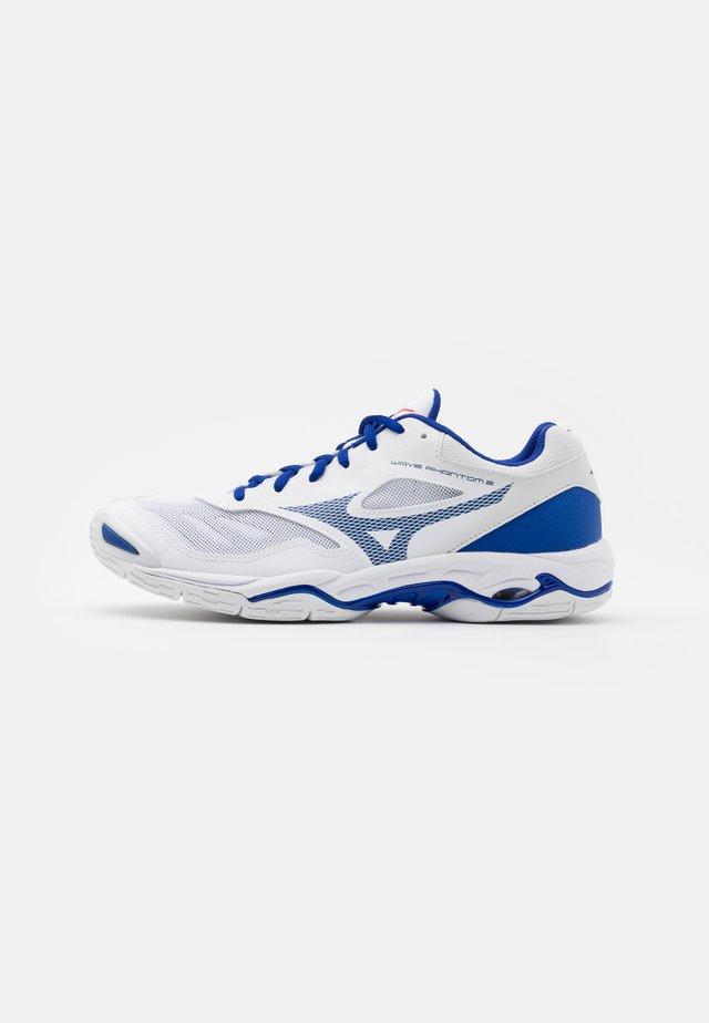 WAVE PHANTOM 2 - Zapatillas de balonmano - white/reflex blue/diva pink