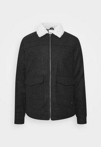 Solid - JACKET LINTON - Light jacket - dar grey - 4