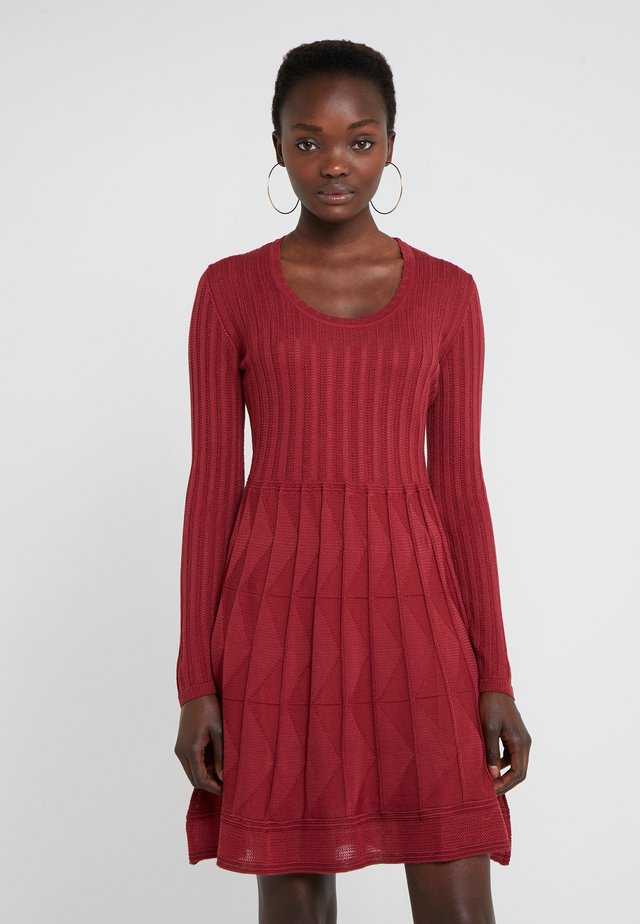ABITO - Robe pull - red