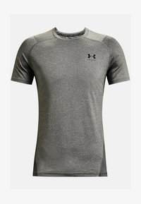 Under Armour - ARMOUR FITTED - Print T-shirt - carbon heather - 3
