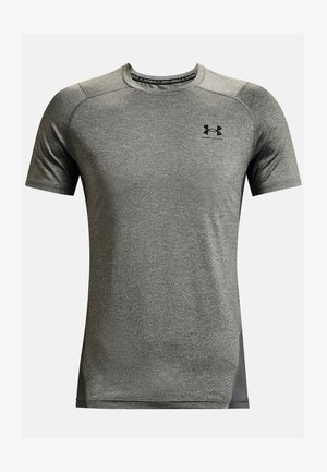 ARMOUR FITTED - Print T-shirt - carbon heather