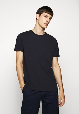 BRENON - Basic T-shirt - dark navy