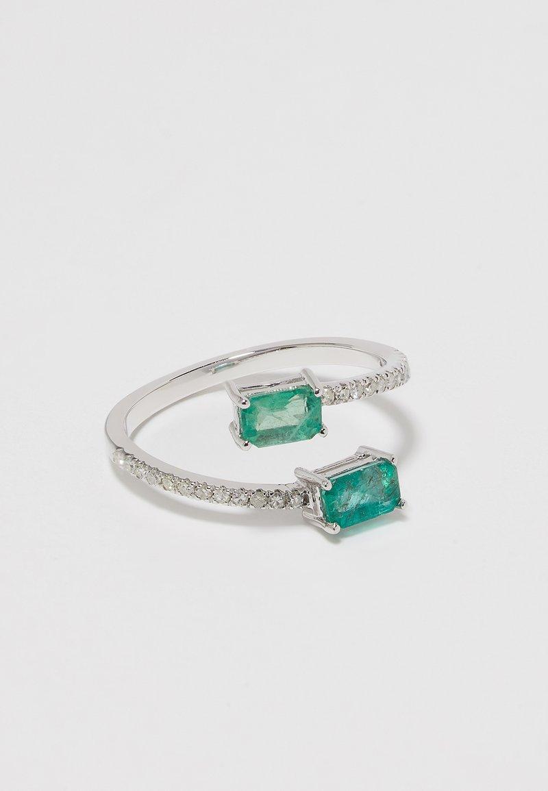 DIAMANT L'ÉTERNEL - WHITE GOLD - Ring - silver-coloured
