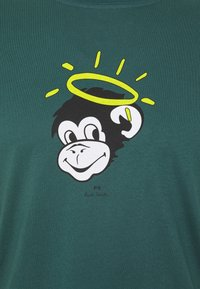 PS Paul Smith - MENS SLIM FIT MONKEY HALO - Print T-shirt - dark green - 2