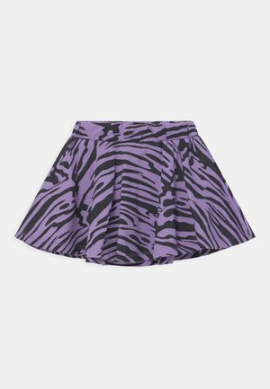 ZEBRA - Mini skirt - light dusty lilac