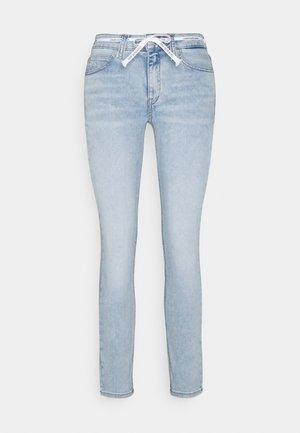 MID RISE SKINNY ANKLE - Jeans Skinny Fit - denim light