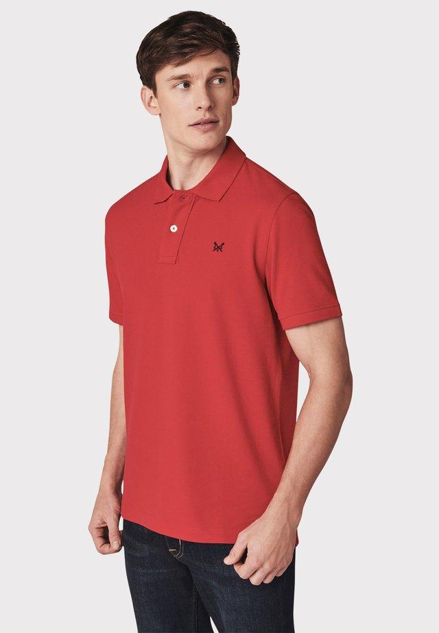 Poloshirt - crimson