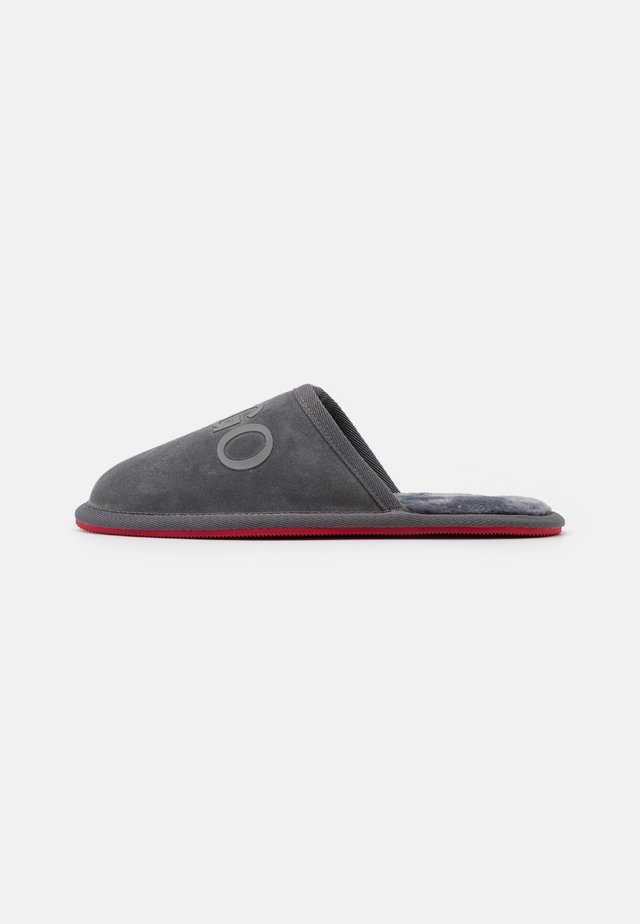 EXCLUSIVE COZY SLIP - Kapcie - grey