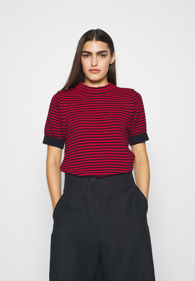 NOR - Camiseta estampada - poppy red