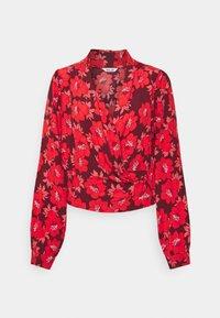 Rolla's - BELLA DATURA BLOUSE - Bluse - raspberry - 4