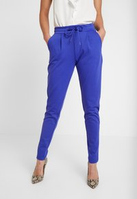 ICHI - KATE - Tracksuit bottoms - clemantis blue - 0