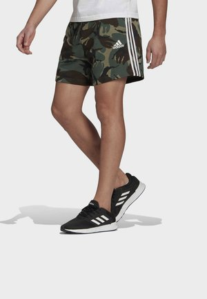 CAMOUFLAGE SHO ESSENTIALS SPORTS REGULAR SHORTS - Korte sportsbukser - green