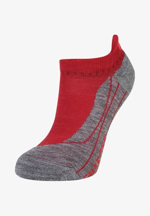 TK5 INVISIBLE  - Trainer socks - ruby