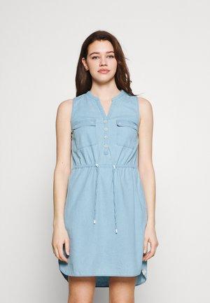 ROISIN - Denim dress - light blue