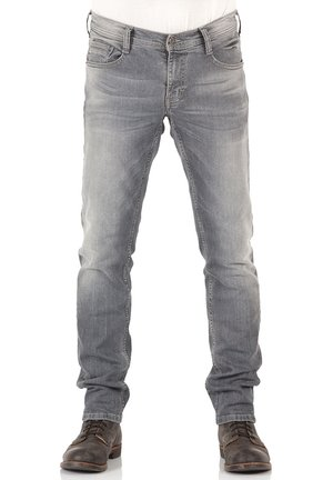 OREGON - Slim fit jeans - light grey denim