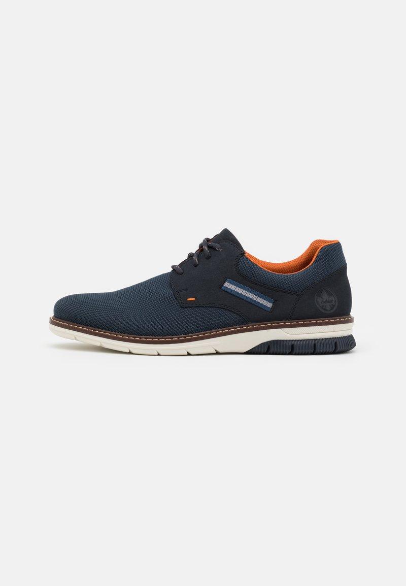 Rieker - Šněrovací boty - blau
