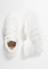 Missguided - WAVE TRAINER - Sneakersy niskie - white - 3