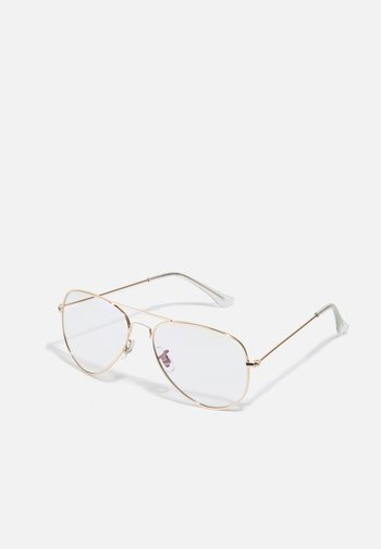 JACRIVER BLUE LIGHT GLASSES - Other accessories - gold-coloured