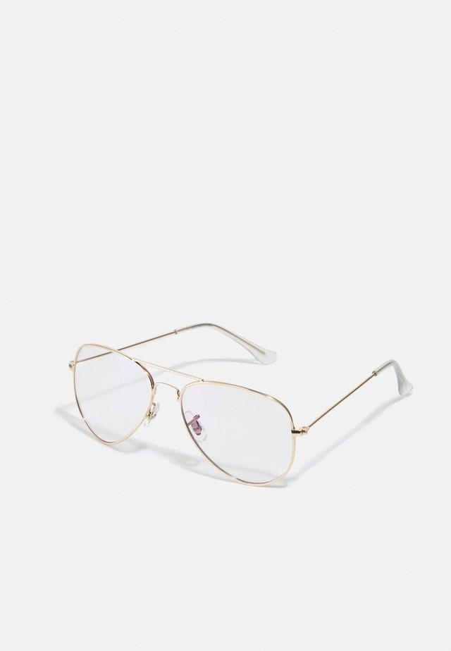JACRIVER BLUE LIGHT GLASSES - Overige accessoires - gold-coloured
