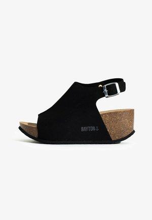 CRUZ - Sandały na platformie - black