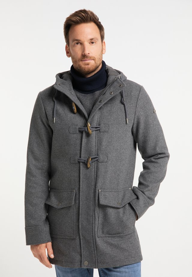 Cappotto classico - grau melange