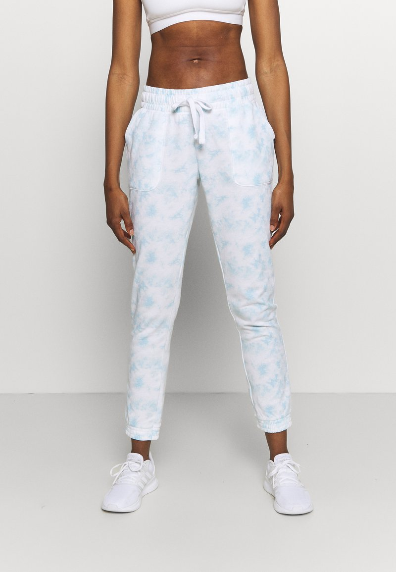 Cotton On Body - GYM TRACK PANTS - Tracksuit bottoms - baby blue