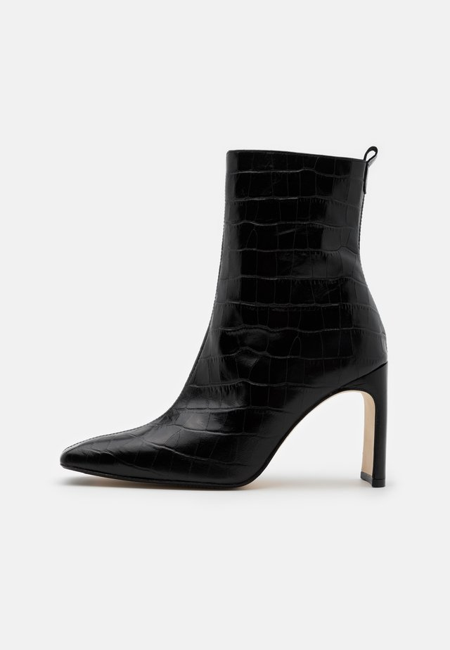 MARCELLE - High heeled ankle boots - black