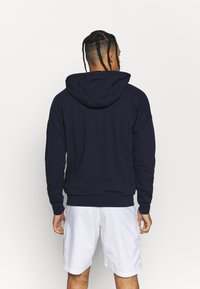 Lacoste Sport - RAINBOW JACKET - Zip-up hoodie - navy blue/wasp/gladiolus/utramarine/white - 2