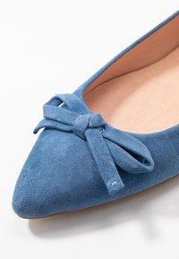 Unisa - ABENO - Ballet pumps - azure - 2
