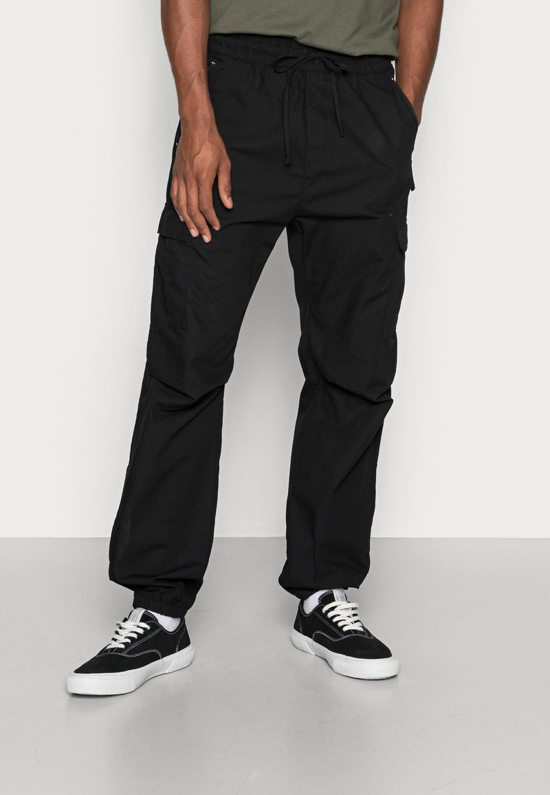 Carhartt WIP - JOGGER COLUMBIA - Cargo trousers - black rinsed