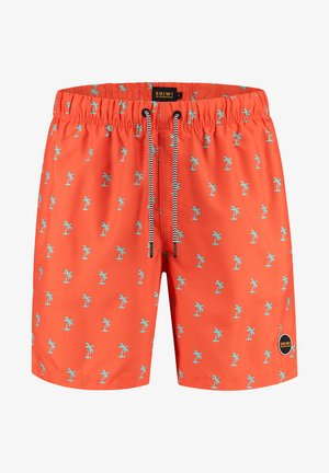 PALMTREE - Swimming shorts - sunset red