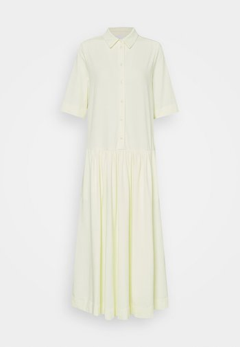 CECI - Jerseyklänning - pastellgruen