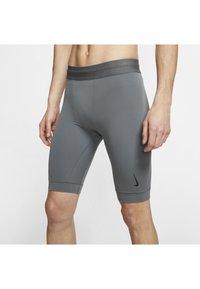 Nike Performance - DRY YOGA - Leggings - iron grey/black - 3