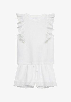 CORTO  RICAMO - Pyžamová sada - bianco sporco
