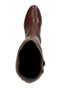 Manfield - MIT ABSATZ - High heeled boots - cognac - 1