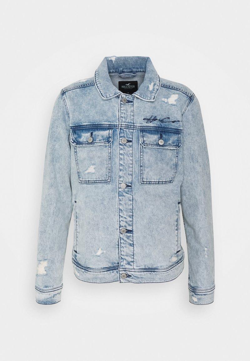 Hollister Co. - TRUCKER - Denim jacket - icy light wash