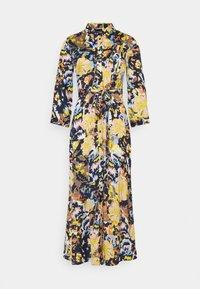Pieces - PCROSITA 3/4 MIDI DRESS - Shirt dress - navy blazer/misty rose - 4