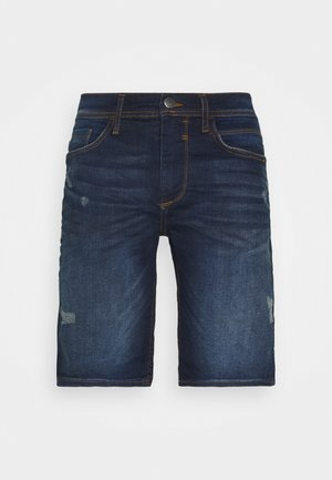 SCRATCHES - Jeansshort - denim dark blue