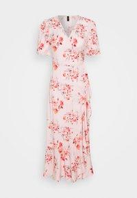YAS - YASSINA ANKLE WRAP DRESS - Maxi dress - pale lilac - 4