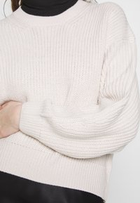 New Look - FASHIONED JUMPER - Svetr - off white - 4